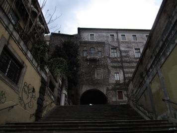 Treppe hoch zu San Pietro in Vincoli