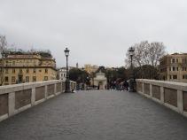 Auf der Ponte Sisto