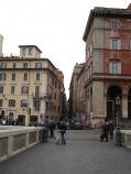 Blick zur Via Pettinari