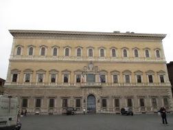 Palazzo Farnese - französische Botschaft