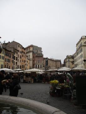 MArkt auf dem Campo de' Fiori