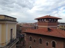 Der Blick aus meinem Fenster über Rom