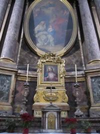Das Herz Jesu und die heilige Familie