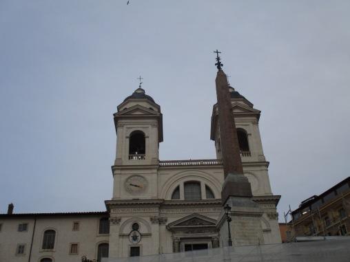 Trinità dei Monti & Obelisco Sallustiano