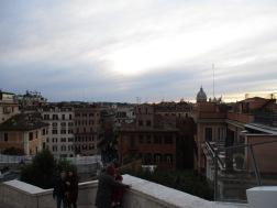 Blick über Rom.