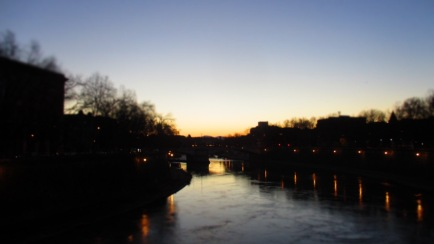 Ponte Sisto nach Süden