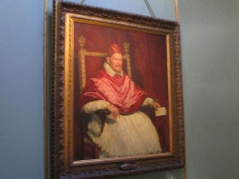 Das berühmte Portrait des Papstes Innozenz von Velázquez
