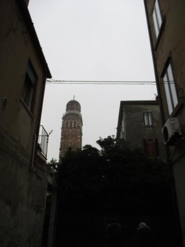 Der erste Schritt nach Venedig