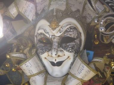 Ich liebe venezianische Masken