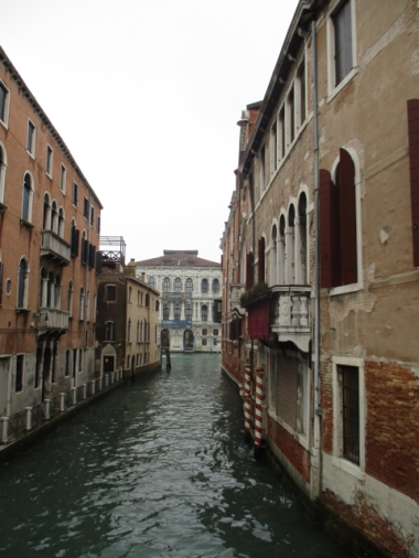 Das da hinten ist der Grand Canal