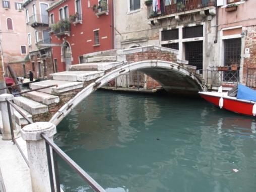 Das ist sie: Die Ponte Chiodo