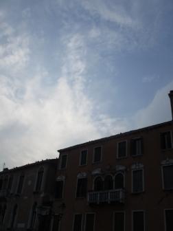 Kurzfristig wird der Himmel mal blau :)