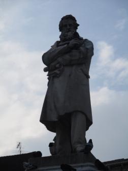 Niccolo' Tommaseo, italienischer Schriftsteller und einer der bedeutendsten Lexikographen des Italienischen