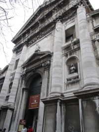 Portal der Chiesa di San Vidal