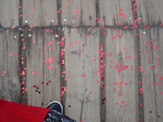 Herzen auf der Brücke :D Some LOVE on my way <3