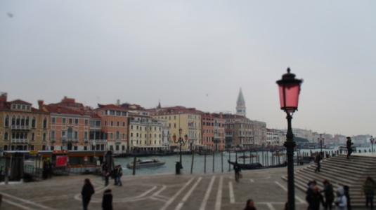 Blick in Richtung San Marco