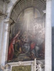 Das heilige Licht strömt ein
