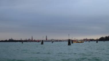 Der letzte Blick auf San Marco