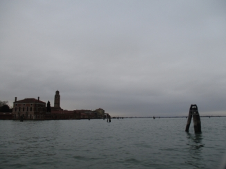 letzter Blick auf Venezia