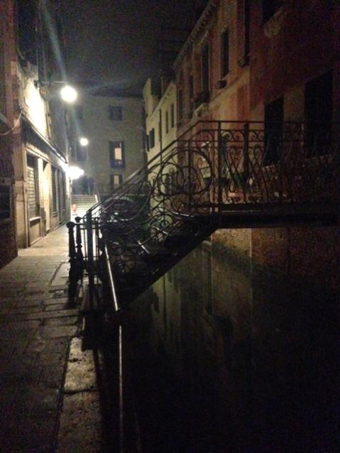 Die Straße meines Hotels