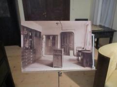 Klimts Arbeitszimmer (Original und Nachbildung)