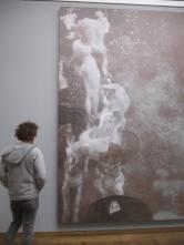 """Klimt: Fakultätsbild """"Philosophie"""" (leider nur eine Reproduktion, da das Original verbrannt ist"""