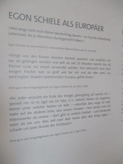 Egon Schiele als Europäer