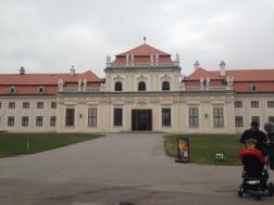 Unteres Belvedere, in dem die Klimtausstellung sich befindet