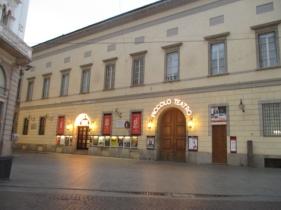 Das Piccolo Teatro - noch verschlafen