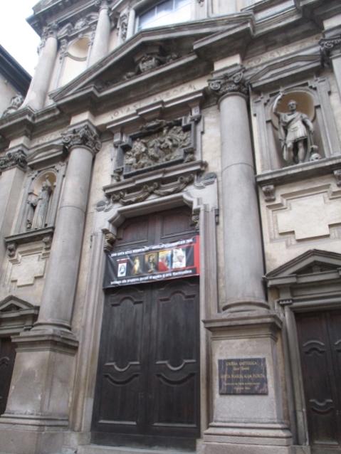Chiesa di Santa Maria alla Porta (leider noch zu)