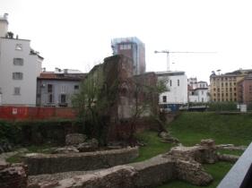 ... die Grundmauern eines alten Palazzo