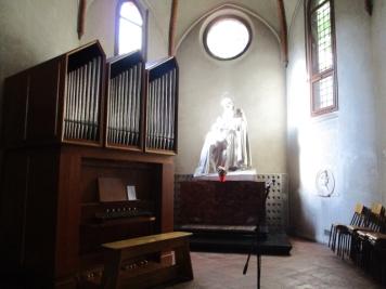 ... und der Orgel.