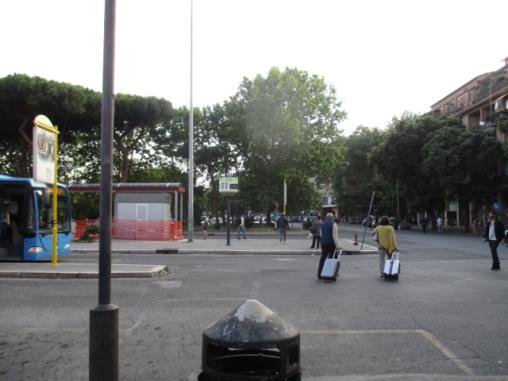 Bahnhof von Ostia Central