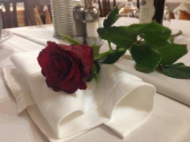 und eine Rose