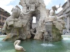 Der Vierströme-Brunnen