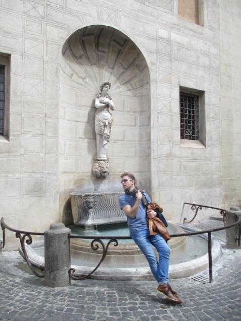 Fontana di Palazzo Spada am Piazza Capo di Ferro