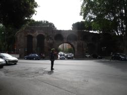 Die alte Stadtmauer