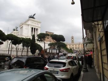 Blick auf's Monumento Vittorio Emmanuele II
