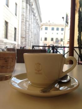 Bester italienischer Cappuccino