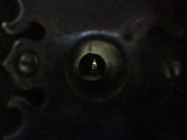 Der Blick durchs Schlüsselloch ...