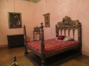 Das päpstliche Bett