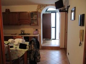 Mein Wohnzimmer mit kleiner Küche