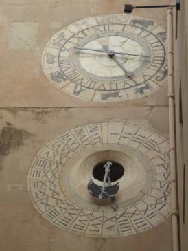 Eine astrologische Uhr