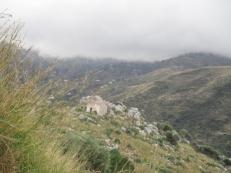 Eine kleine Steinhütte