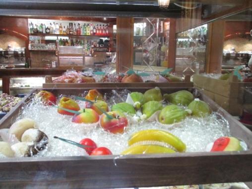 Das typische Marzipan-Obst der Insel