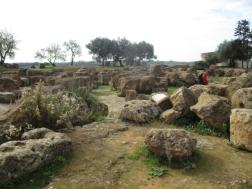 Überreste eines weiteren Tempels