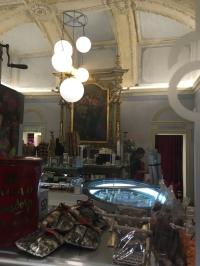 Ein Schokoladenladen in einer ehemaligen Kirche :)