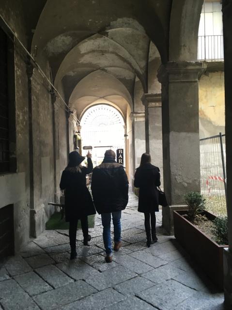 Mit Cecilia und Valentina unterwegs