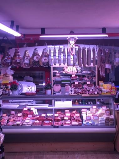 Für seine Salami ist Aosta bekannt
