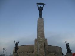 Szabadság szobor - Die Freiheitsstatue von Budapest